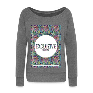Colour_Design Excluzive - Women's Boat Neck Long Sleeve Top