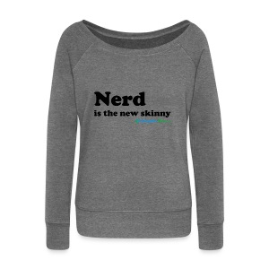 Nerd is the new skinny! - Damegenser med båthals fra Bella