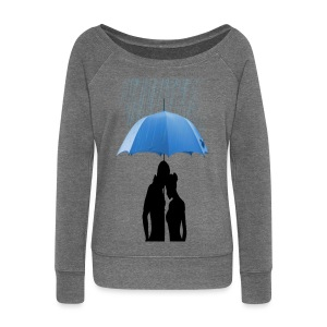 Love under the umbrella - Vrouwen trui met U-hals van Bella