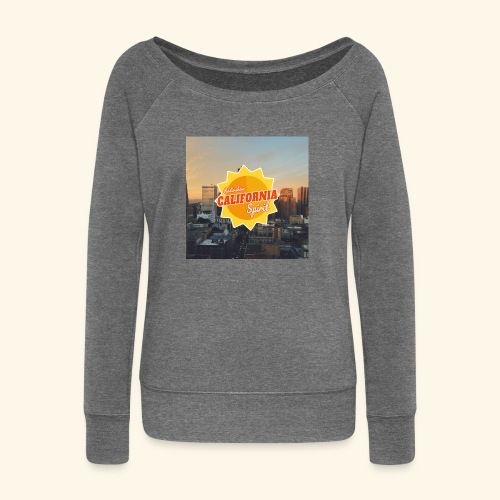 California Spirit City - Pull Femme col bateau de Bella
