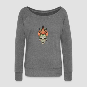 Weed Mitra - Women's Boat Neck Long Sleeve Top