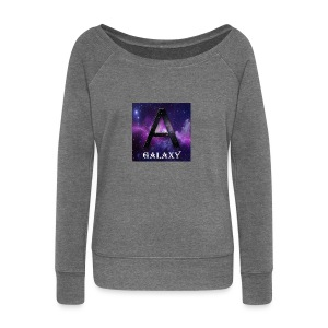 AwL Galaxy Products - Women's Boat Neck Long Sleeve Top