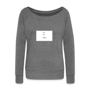 This Will Happen - Women's Boat Neck Long Sleeve Top