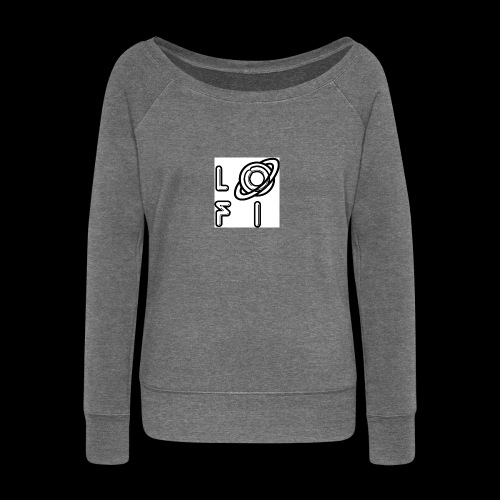 PLANET LOFI - Women's Boat Neck Long Sleeve Top