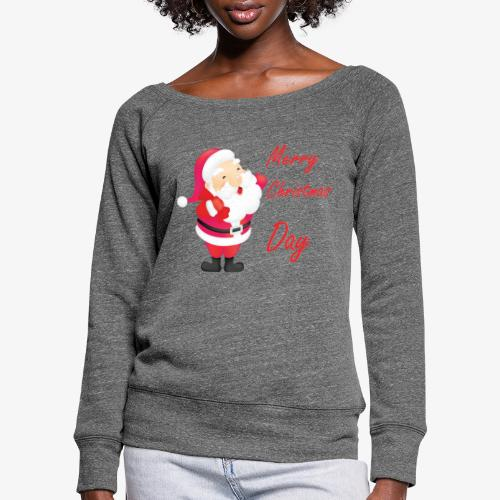 Merry Christmas Day Collections - Pull Femme col bateau de Bella
