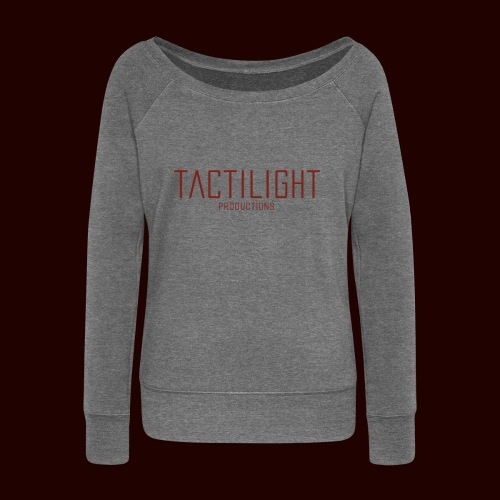 TACTILIGHT - Women's Boat Neck Long Sleeve Top