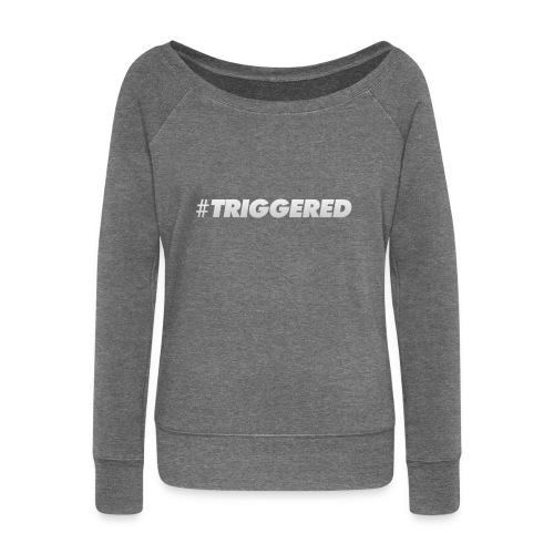 TRIGGERED CAP - Women's Boat Neck Long Sleeve Top