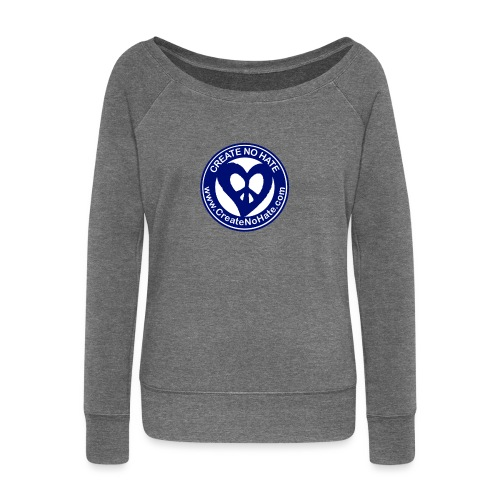 THIS IS THE BLUE CNH LOGO - Women's Boat Neck Long Sleeve Top