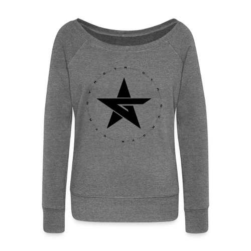 G Y M Time - Women's Boat Neck Long Sleeve Top