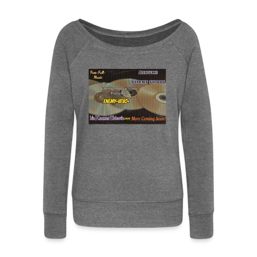 Enemy_Vevo_Picture - Women's Boat Neck Long Sleeve Top