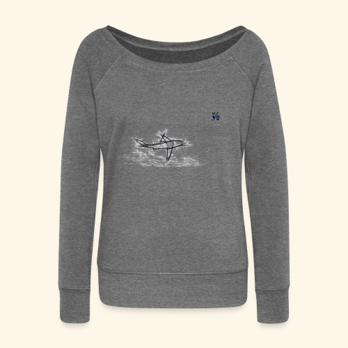 requin 03 21 - Women's Boat Neck Long Sleeve Top