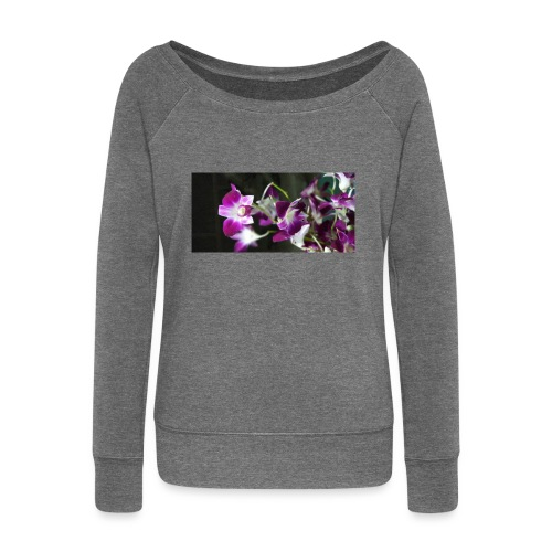 Orchid - Women's Boat Neck Long Sleeve Top