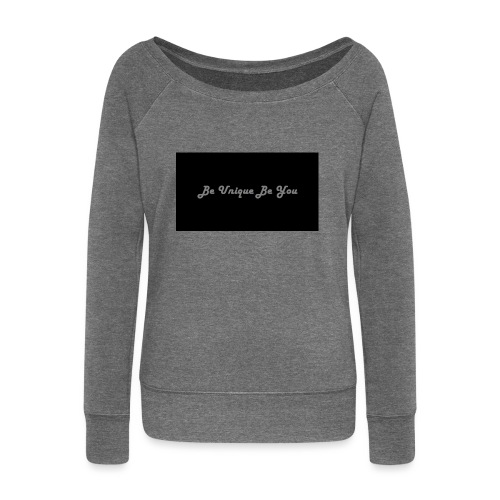 Be yourself - Women's Boat Neck Long Sleeve Top