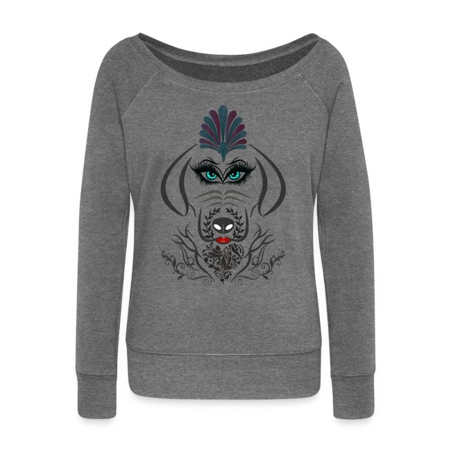 Hipster Dog Girl by T-shirt chic et choc