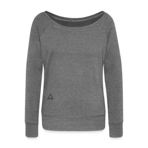 Never over - Women's Boat Neck Long Sleeve Top