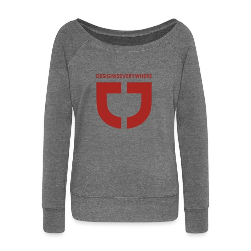 RED DEE - Women's Boat Neck Long Sleeve Top