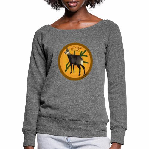 The chamois - Women's Boat Neck Long Sleeve Top