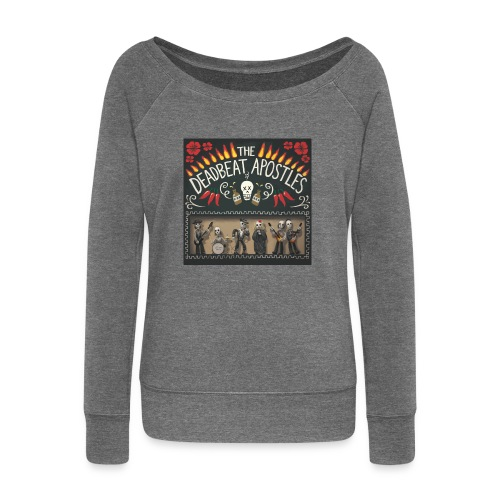 The Deadbeat Apostles - Women's Boat Neck Long Sleeve Top