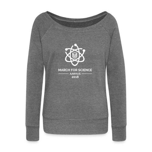 March for Science Aarhus 2018 - Women's Boat Neck Long Sleeve Top