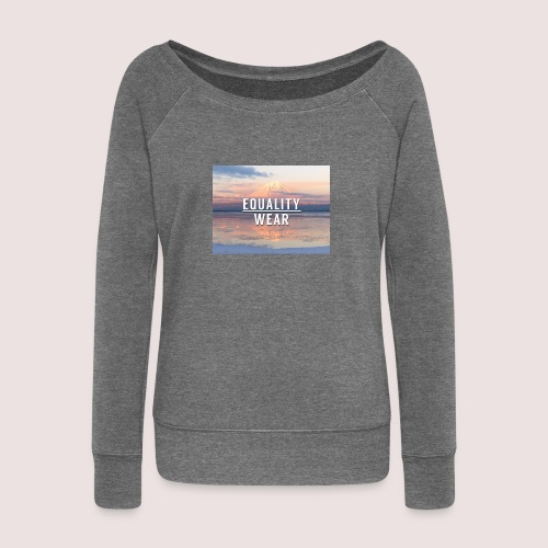 Mountain Equality Edition - Women's Boat Neck Long Sleeve Top