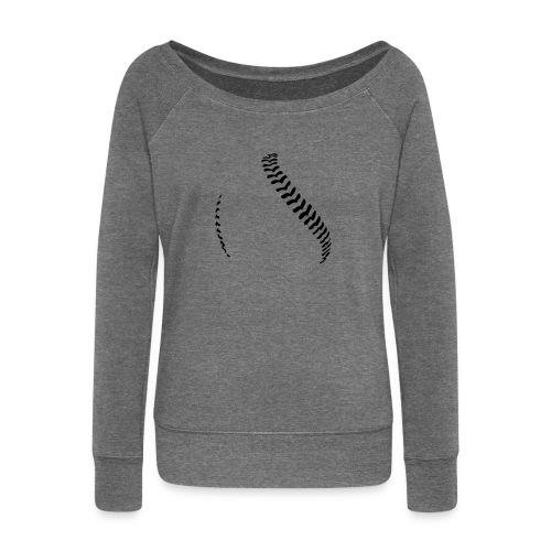 Baseball - Women's Boat Neck Long Sleeve Top