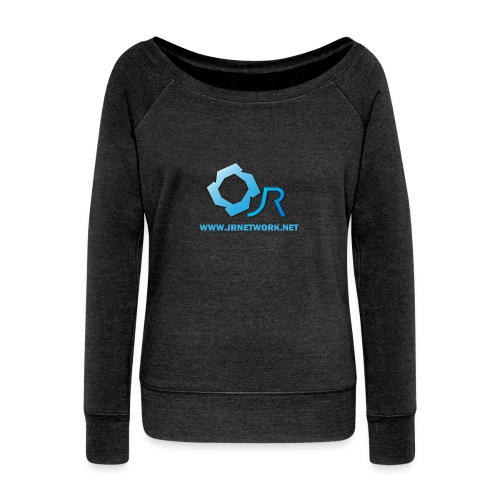 Official Logo - Women's Boat Neck Long Sleeve Top
