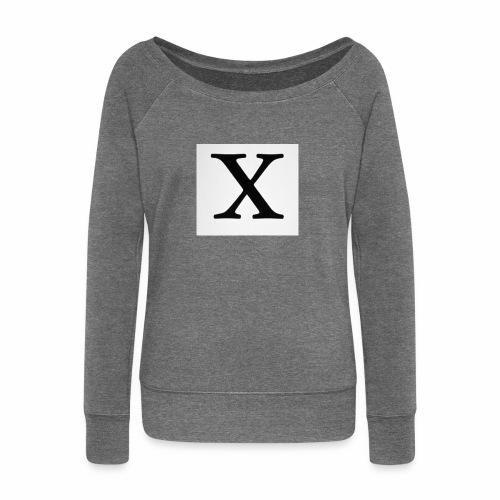 THE X - Women's Boat Neck Long Sleeve Top