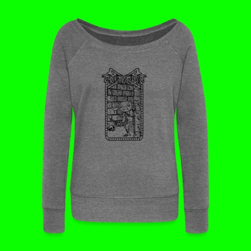 Return to the Dungeon - Women's Boat Neck Long Sleeve Top