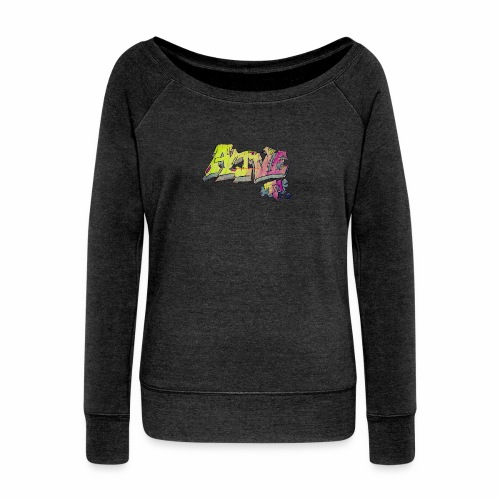 ALIVE TM Collab - Women's Boat Neck Long Sleeve Top