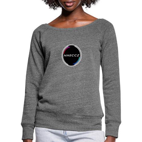 NHECCZ Logo Collection - Women's Boat Neck Long Sleeve Top