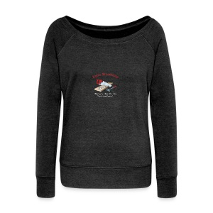 Rob's Woodshop shirt - Women's Boat Neck Long Sleeve Top