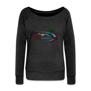 The Happy Wanderer Club Merchandise - Women's Boat Neck Long Sleeve Top