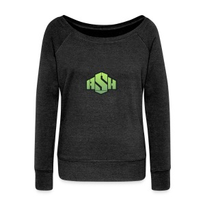 SxAshHowl,s Youtube merch - Women's Boat Neck Long Sleeve Top