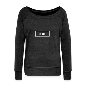 Death - Women's Boat Neck Long Sleeve Top