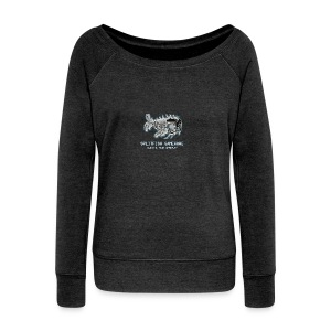 SplitFish Gameware Collection - Frauen Pullover mit U-Boot-Ausschnitt von Bella