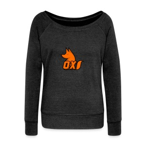 Fox~ Design - Women's Boat Neck Long Sleeve Top