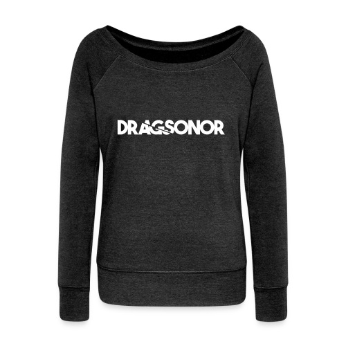 DRAGSONOR white - Women's Boat Neck Long Sleeve Top