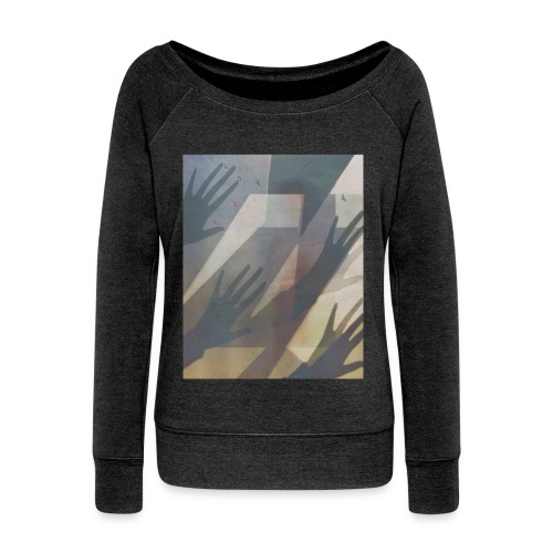 Try for the sun - Women's Boat Neck Long Sleeve Top