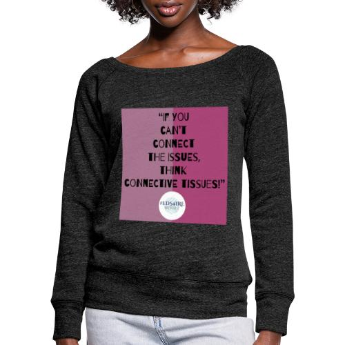 Ehlers-Danlos/ Connective Tissue Disorders - Women's Boat Neck Long Sleeve Top