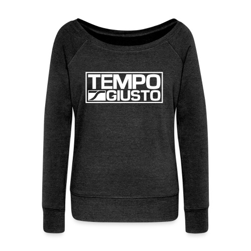Tempo Giusto Rectangle - Women's Boat Neck Long Sleeve Top