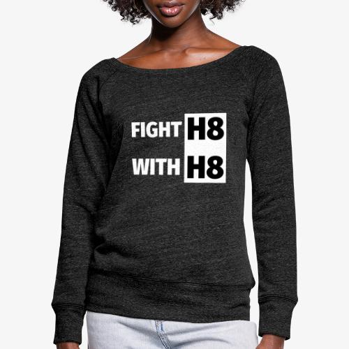 FIGHTH8 bright - Women's Boat Neck Long Sleeve Top