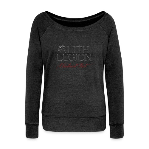 Alith Legion Logo Dragon Ebonheart Pact - Women's Boat Neck Long Sleeve Top