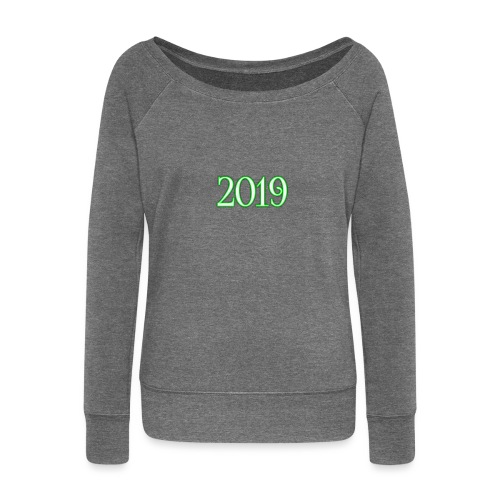 2019 - Women's Boat Neck Long Sleeve Top