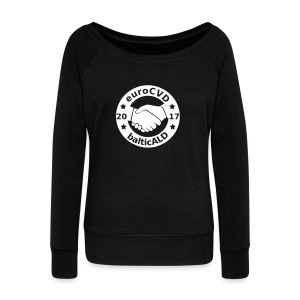Joint EuroCVD-BalticALD conference womens t-shirt - Women's Boat Neck Long Sleeve Top
