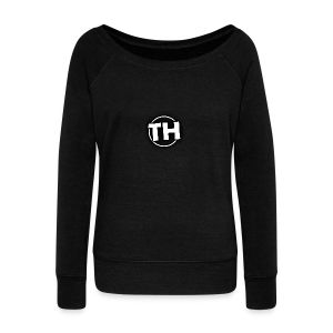 Men's TankTop - TooHard Logo 5 - Women's Boat Neck Long Sleeve Top