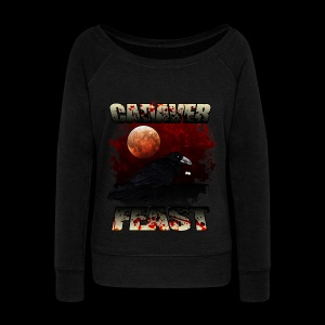 cadaver Feast - Women's Boat Neck Long Sleeve Top