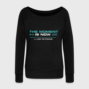 THE MOMENT IS NOW - Sudadera con escote drapeado mujer