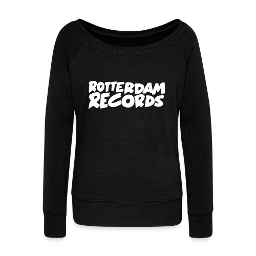 Rotterdam Records - Women's Boat Neck Long Sleeve Top