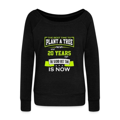 The best time to plant a tree was 20 years ago - Damegenser med båthals fra Bella