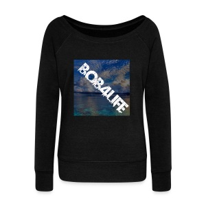 the design is chill. - Women's Boat Neck Long Sleeve Top